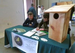 Massachusetts Young Birders Club Attends Mass Audubon Birders Meeting