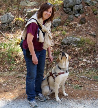 Musings from the Blind Birder: Bird Walking with a Guide Dog