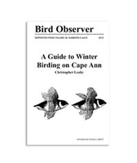 Birding Cape Ann Booklet