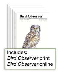 1 Year Subscription to Bird Observer